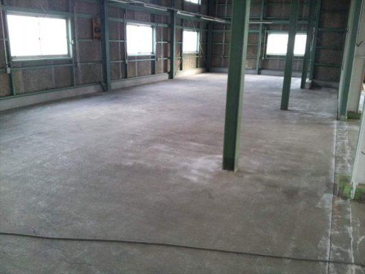 埼玉県入間郡三芳町倉庫|床防塵塗装塗り替え工事:ケミクリートEPカラー