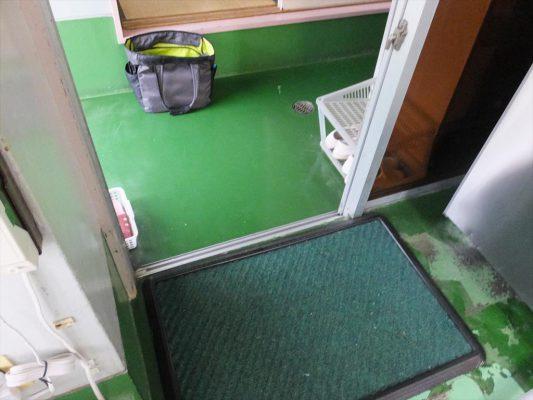 神奈川県横浜市の某保育園|厨房塗床夏休み改修工事:ケミクリートMSL