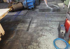 東京都板橋区の工場床塗装(塗り床)(塗床)工事の下見に行ってまいりました。