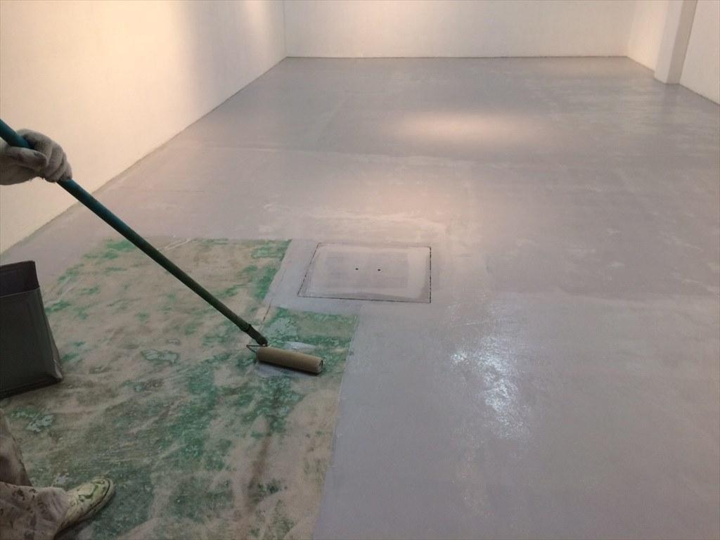 東京都江東区のギャラリー|床塗装の塗替え工事:サンデーペイント