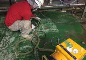 千葉県内の製パン工場|塗り床改修工事:タフクリートMH