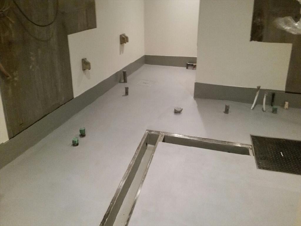 大田区大森焼き肉店|塗り床改修:クイックボンデ+ケミクリートMSL