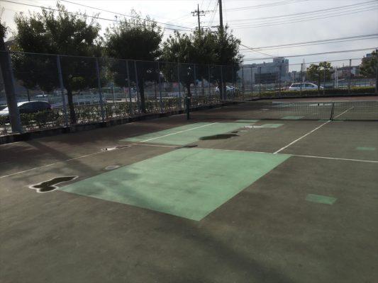 埼玉県さいたま市のテニスコート現地調査