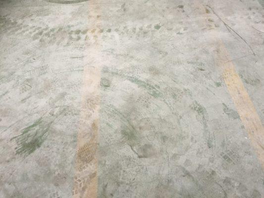 東京都品川区の倉庫|床塗装(塗り床)改修工事:ジョリエースE薄膜工法