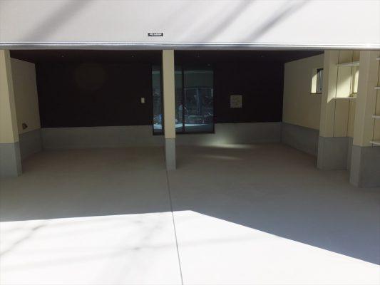 東京都豊島区個人邸ガレージ|コンクリート床塗装工事(塗り床工事):ケミクリートE