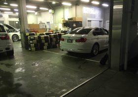 埼玉県内自動車ディーラー|工場床塗装工事現地調査