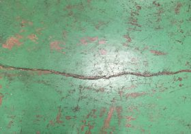 埼玉県戸田市冷蔵倉庫|床塗装塗り替え工事の下見