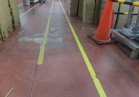 群馬県内の工場|床塗装工事(塗床工事)改修下見