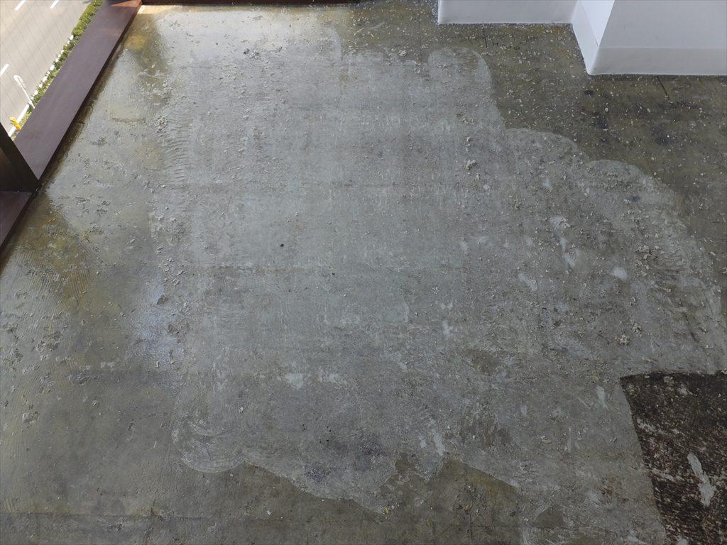 東京都港区のオフィスビル|塗床(クリア)工事