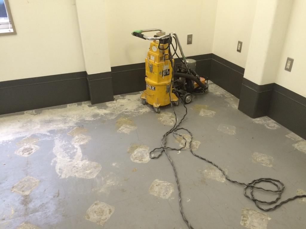 神奈川県横浜市の化学工場塗床