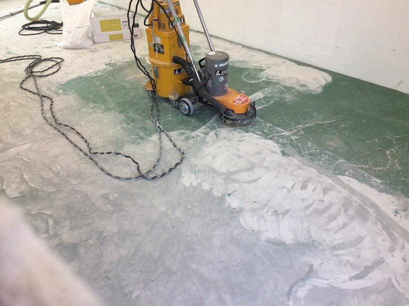 埼玉県朝霞市のビジネスサポート様店舗|エポキシ樹脂床塗装工事