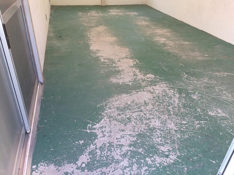 光コーティング、朝霞市店舗、床塗装