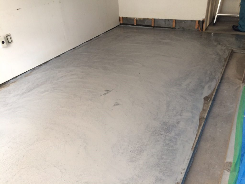 東京都台東区鳥越チョコレート喫茶「蕪木」さん|厨房エポキシ塗り床を施工させて頂きました。