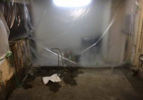 千葉市中央区のラーメン店|厨房塗床(床塗装)工事:タフクリートMH