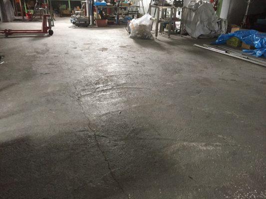千葉県柏市|配管設備工場床塗装(塗床)改修工事:タフクリートFL