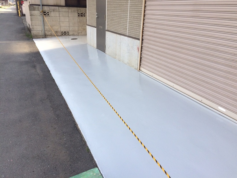 埼玉県所沢市の倉庫床塗装