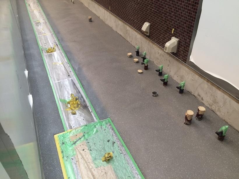 秋葉原のラーメン屋、塗床、タフクリートMH
