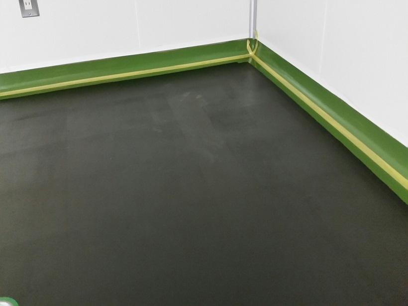 埼玉県秩父市の工場|クリンルームにウレタン系帯電防止塗床工事:ケミコンダクトVC