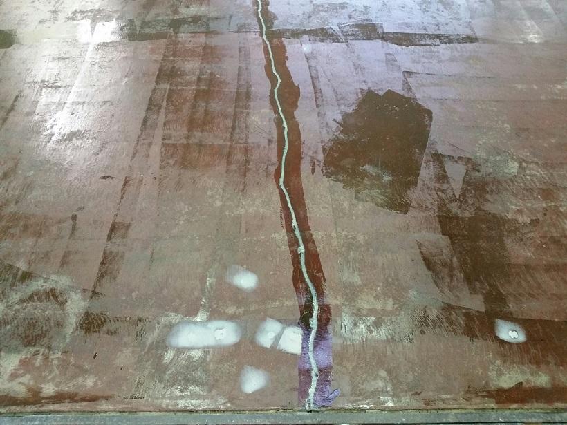 茨城県常総市の工場|床改修で塗床(床塗装)工事:ケミクリートE