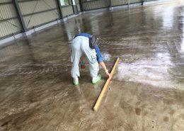 茨城県水戸市のライスセンターで塗床工事