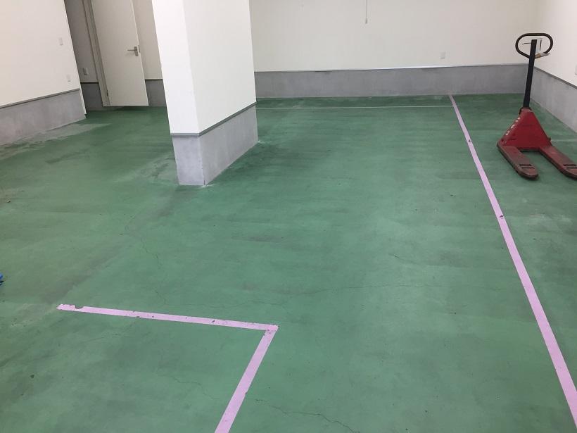 横浜市の工場カラクリート床