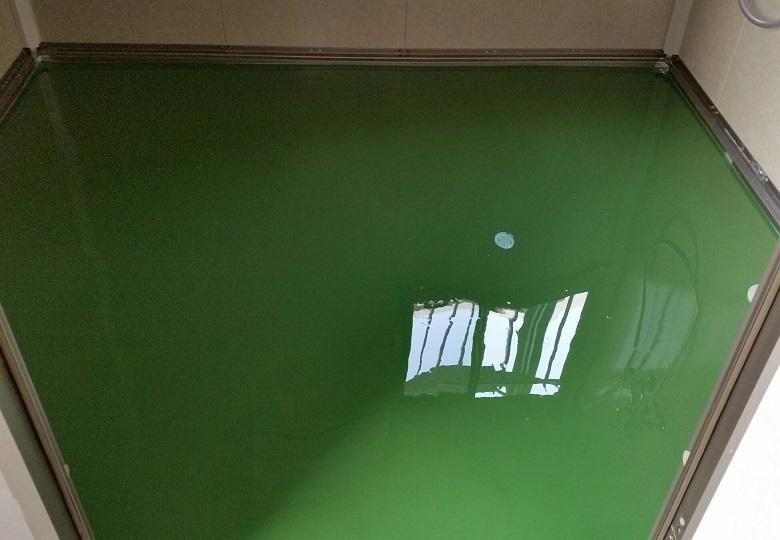 神奈川県相模原市の倉庫|塗床施工:ケミクリートEペースト工法