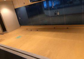 埼玉県蕨市のスーパーマーケットの厨房|耐熱塗床を施工:タフクリートMH