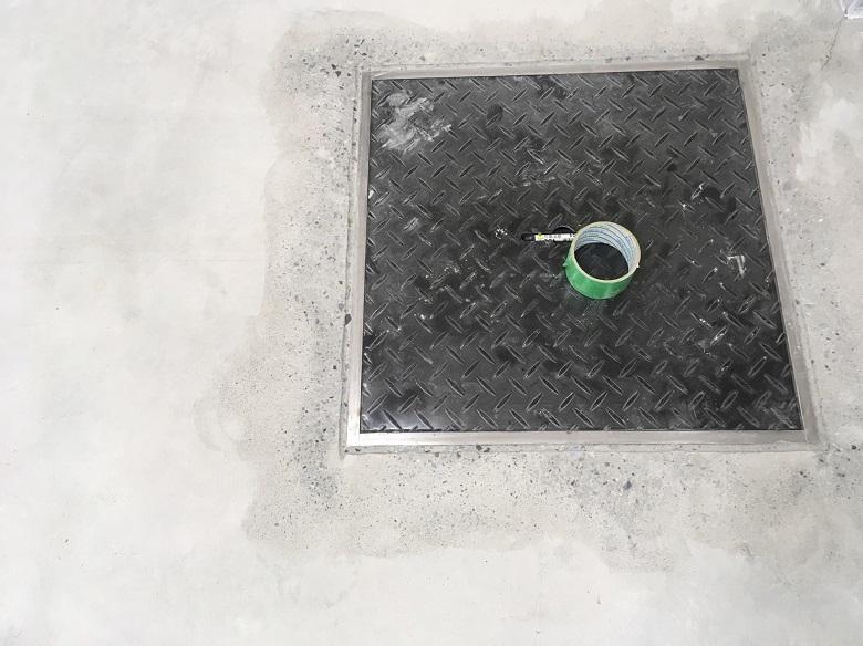 東京都大田区のベーカリー(洋菓子)(ケーキ)|厨房塗床工事:ケミクリートE