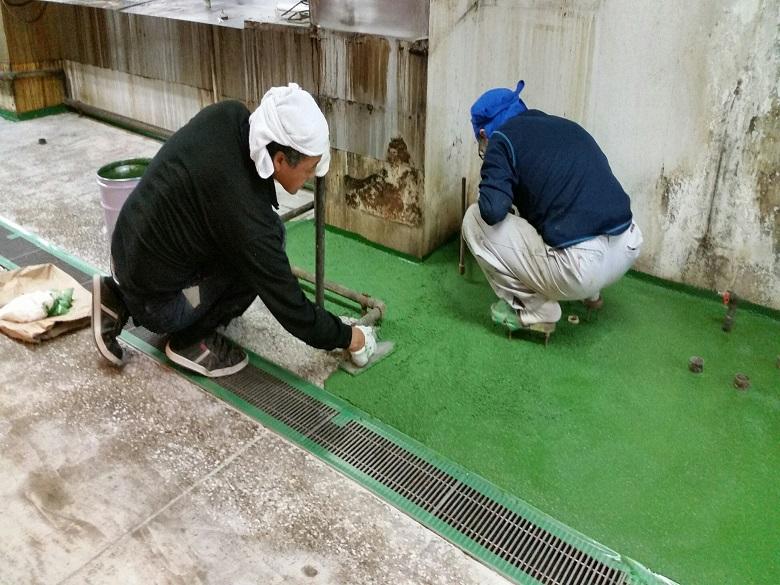 東京都中央区銀座の居酒屋でタフクリートMH
