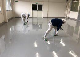イトウパーツ工業様の塗床(床塗装)工事