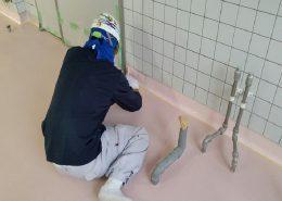 世田谷区学校給食室塗床