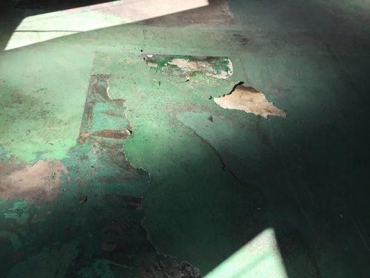 埼玉県日高市の電気機器工場|床塗装(塗床)改修工事:ジョリエースE