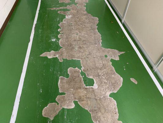 茨城県つくばみらい市の工場|コンクリート床塗装(塗床)工事:アイカ ジョリエースE