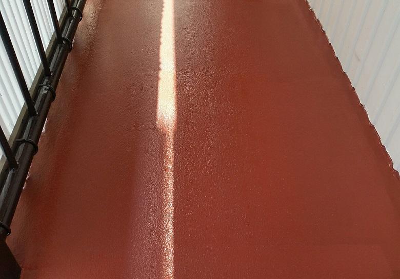 神奈川県横浜市の公民館塗床工事(ケミクリートE防滑工法)