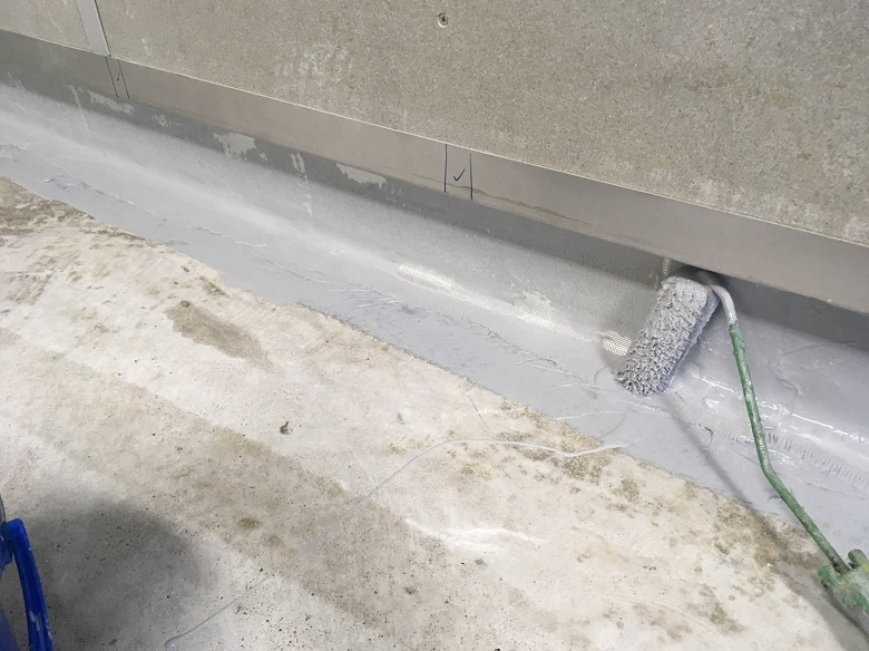 千葉県千葉市若葉区の日総設様(設備工場)|床塗装(塗床)工事:ケミクリートE