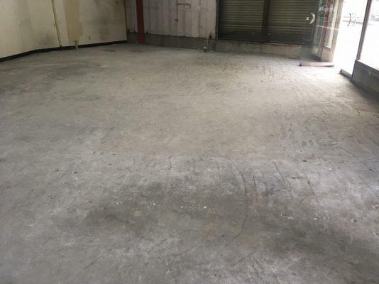 東京都板橋区のアトリエ事務所|コンクリート床塗装クリア工事:ケミクリートEPクリア