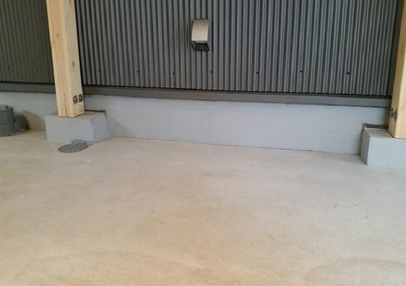 東京都国分寺市の個人邸ガレージ(駐車場)|床塗装(塗床):ケミクリートEPカラー