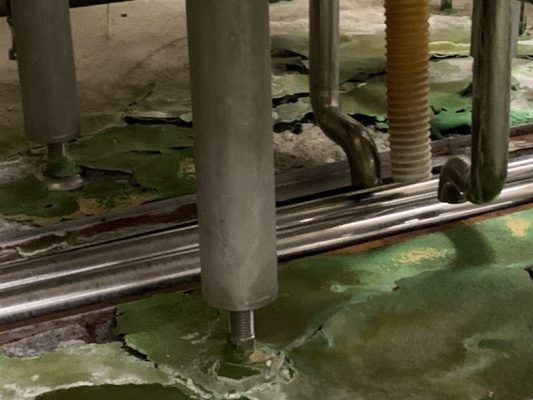 栃木県の食品工場|床塗装(塗床)工事:タフクリートMH