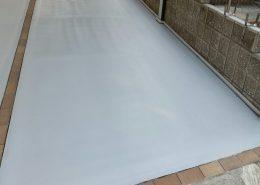 茨城県龍ヶ崎市のガレージ(駐車場)塗床工事