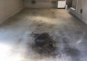 千葉県浦安市の駐車場(ガレージ) 床塗装(塗床)工事:ケミクリートEPカラー