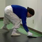 帯電防止塗床