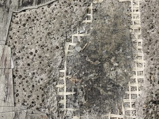 東京都墨田区の小林紙工様|工場床の凸凹を直す床塗装(塗床):ケミクリートE