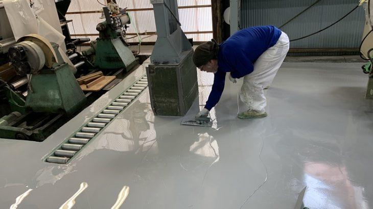 倉庫や工場床に塗床を塗るメリットについて考える