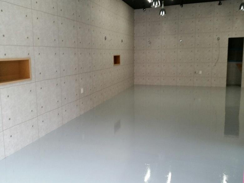 ガレージ床塗装