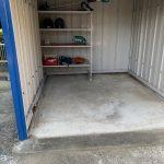 湿気のある倉庫に床塗装