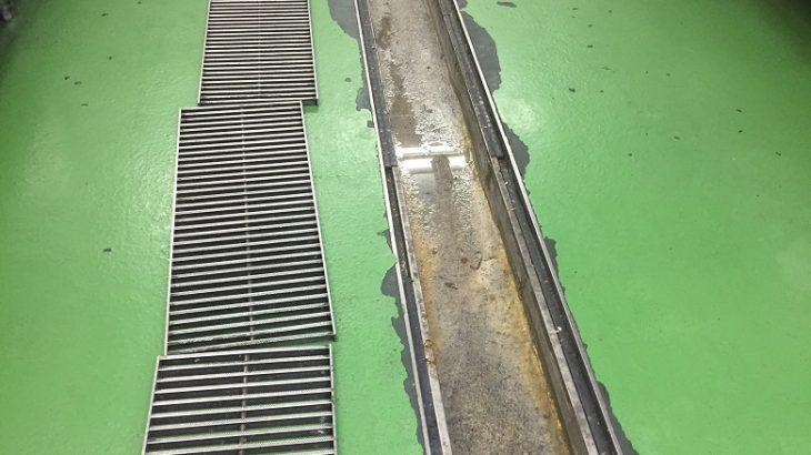 千葉県館山市ホテル|厨房側溝塗床補修:タフクリートMW