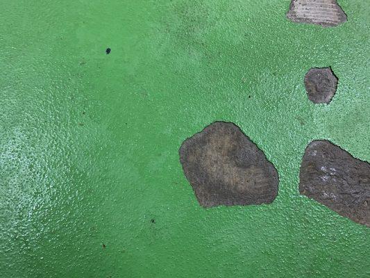 千葉市の老人ホーム|洗浄室塗床剥がれ補修:タフクリートMH