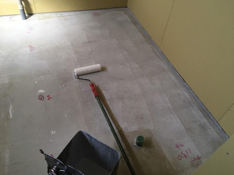 東京都新宿区、しゃぶしゃぶ店|厨房塗床工事:ケミクリートE