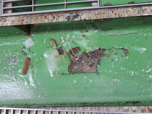 千葉県館山市ホテル|厨房側溝補修:タフクリートMW