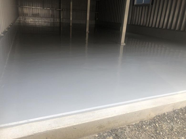 ガレージコンクリート|塗床、安価タイプでもメリットあり